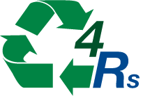 4Rs Rethink Reduce Reuse Recycle